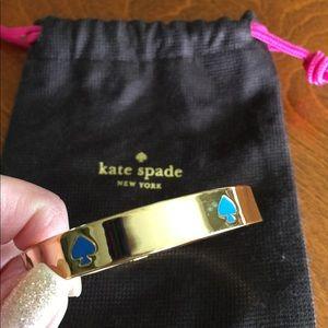 KATE SPADE bangle bracelet - Gold/Blue